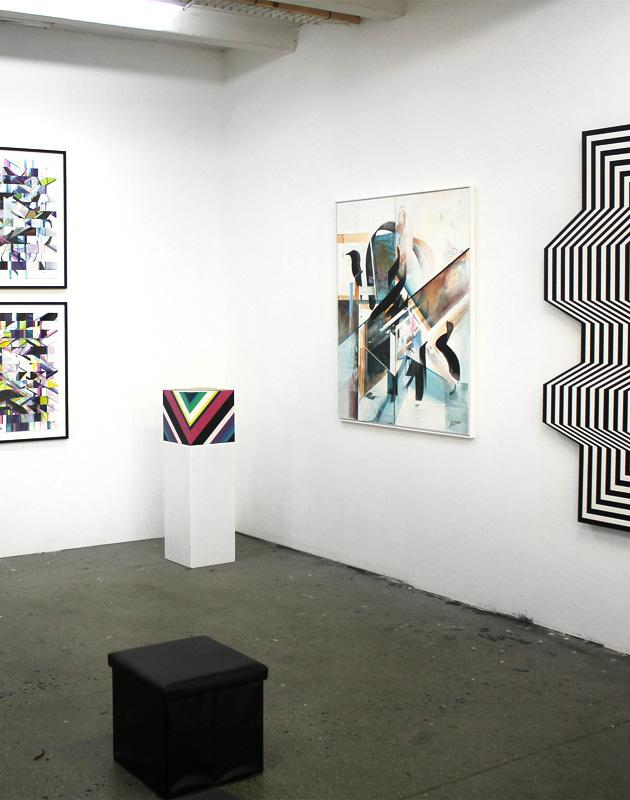 Auszüge aus der Ausstellung: DARKO C. NIKOLIC meets LUCIANPATERMANN