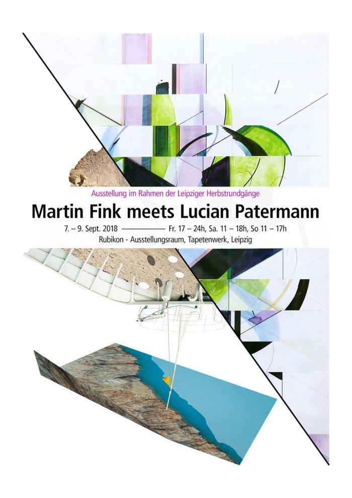 Ausstellungsansichten vom Herbstrundgang: MARTIN FINK meets LUCIANPATERMANN